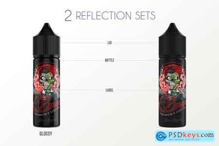 Creativemarket eLiquid Bottle Mockup v 2A