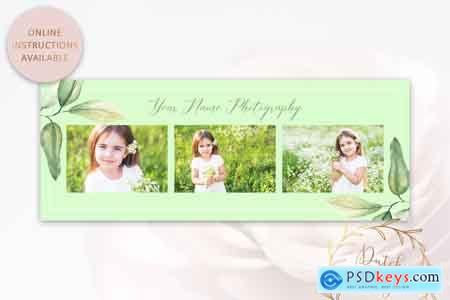 Creativemarket Photography PSD Template Bundle #2
