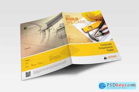 Thehungryjpeg Presentation folder