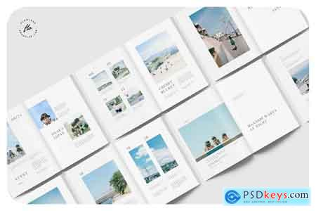 Creativemarket VENUES Travel Magazine
