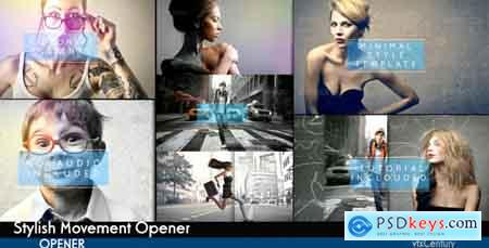 Videohive Stylish Movement Opener Free