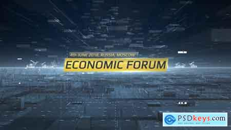 Videohive Economic Forum Opener Free