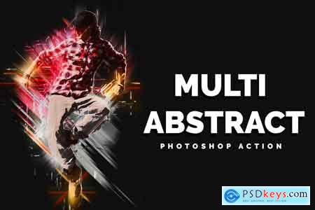 Creativemarket Multi Abstract Photoshop Action