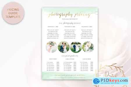 Creativemarket Photography PSD Template Bundle #1