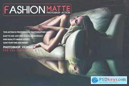 Thehungryjpeg Fashion Matte Photoshop Action