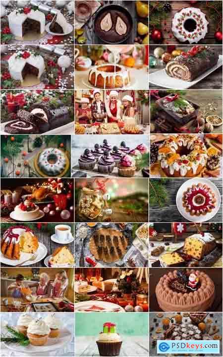Christmas cake pie cupcake sweet celebration 25 HQ Jpeg