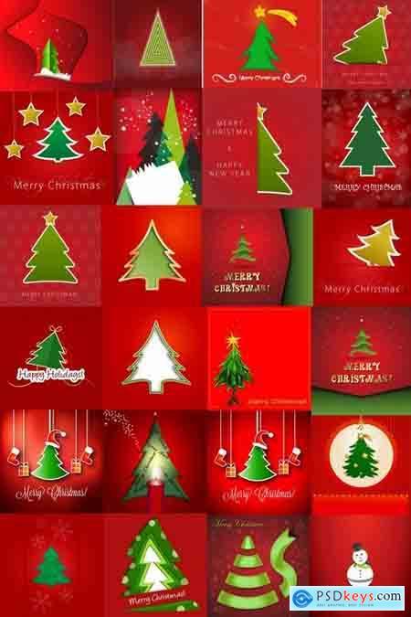 Christmas bakgraund 2-25 Eps