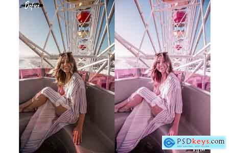 Thehungryjpeg Neo Pink Scent Theme Desktop Lightroom Presets