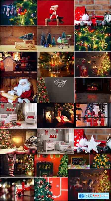 Interior New Year's Christmas gift Christmas Tree 25 HQ Jpeg