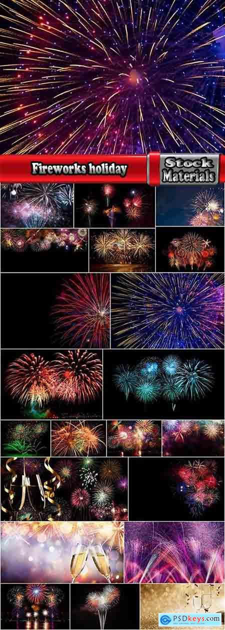 Fireworks holiday new year Christmas flash explosion 25 HQ Jpeg