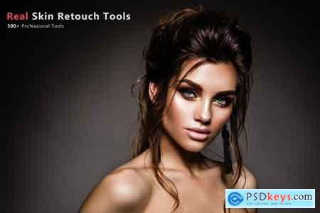 Creativemarket 300+ Real Skin Retouch Tools 3578659