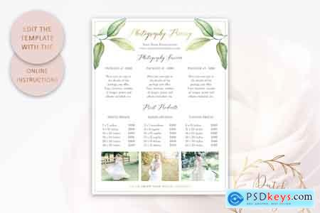Creativemarket PSD Photography Pricing Guide #10