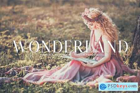 Creativemarket Wonderland Lightroom Presets Pack
