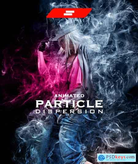 Graphicriver Gif Animated Particle Dispersion