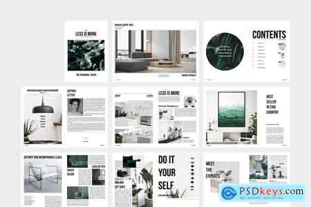 Creativemarket LIM Home Design & Interior Magazine