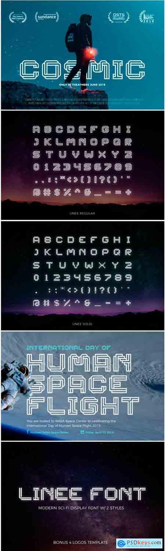 Linee Font