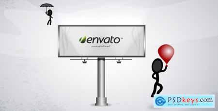 Videohive Billboard Message - Thanksgiving Appreciation template Free