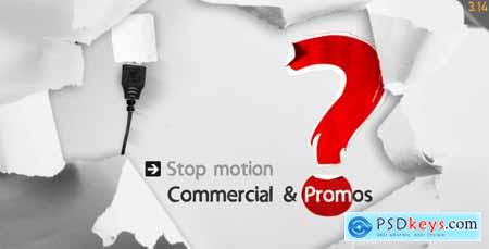 Videohive Stop Motion Commercial & Promos Free