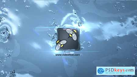 Videohive Water Splash Logo Free