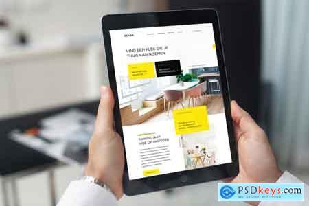 Creativemarket New iPad Responsive Mock-Up