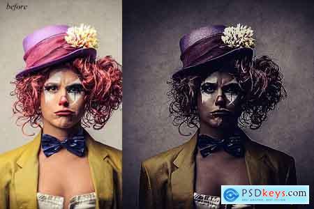 Creativemarket Dark HDR Photoshop Action