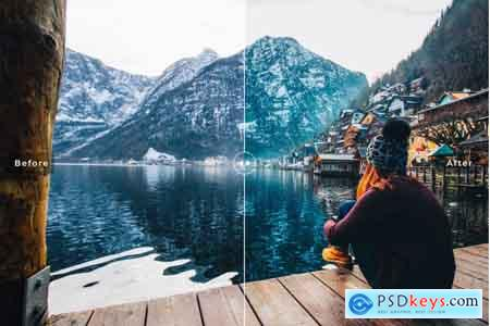 Creativemarket Nature Mobile & Desktop Lightroom Presets Collection