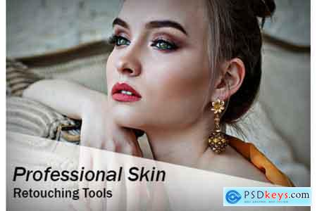 Creativemarket Professional Skin Retouch Tools (Action & Brushes)