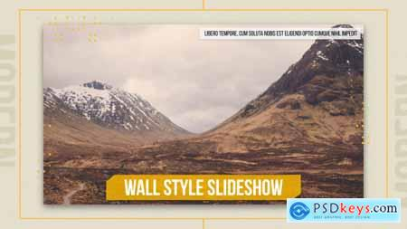 Videohive Wall Style Slideshow Free