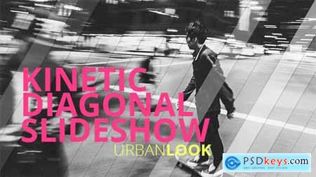 Videohive Kinetic Diagonal Slideshow Free