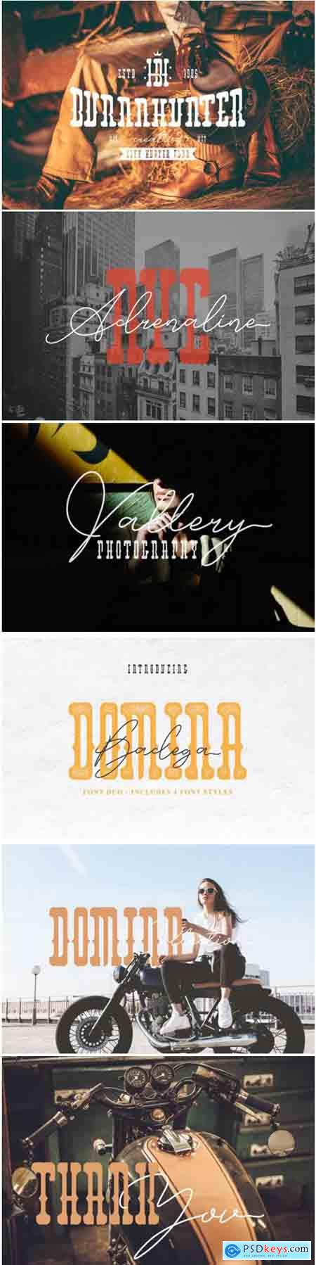 Domina Duo Font