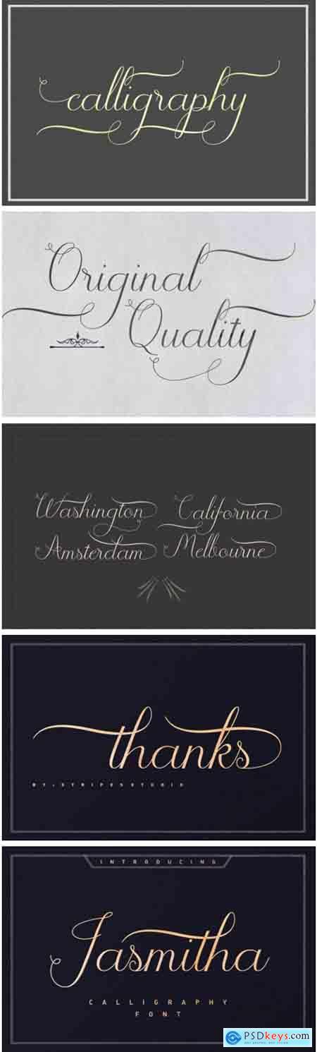 Jasmitha Script Font