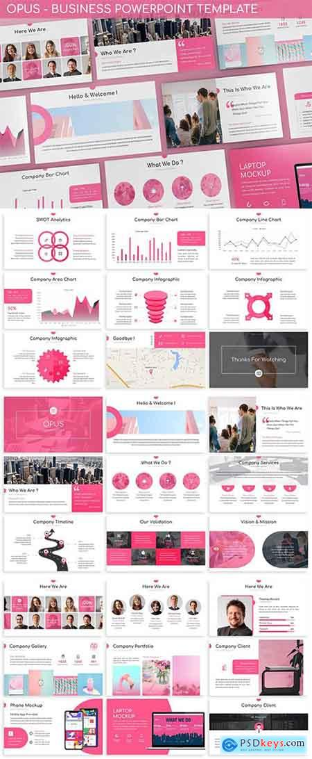 Opus - Business Powerpoint Template
