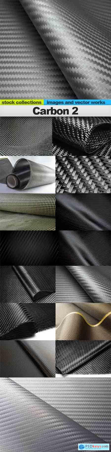 Carbon 2, 15 x UHQ JPEG