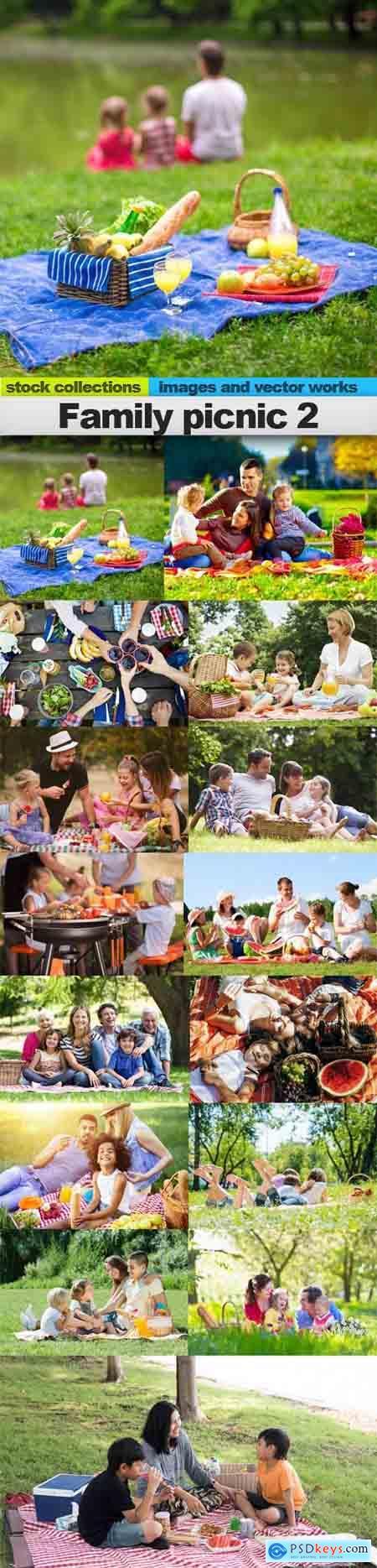 Family picnic 2, 15 x UHQ JPEG