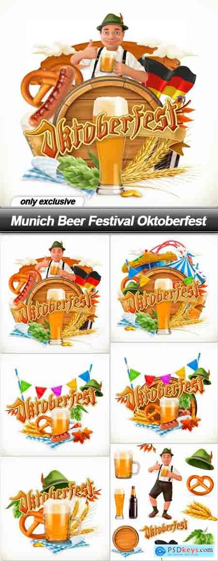 Munich Beer Festival Oktoberfest - 6 EPS