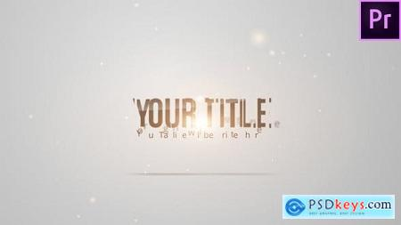 Videohive Simple Corporate Titles