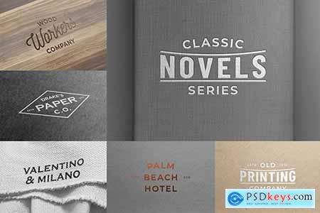 Logo Mockups Collection vol.1