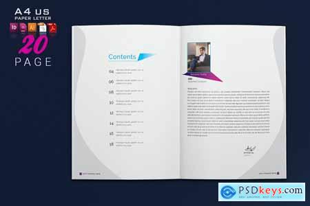Creativemarket Multipurpose Brochure