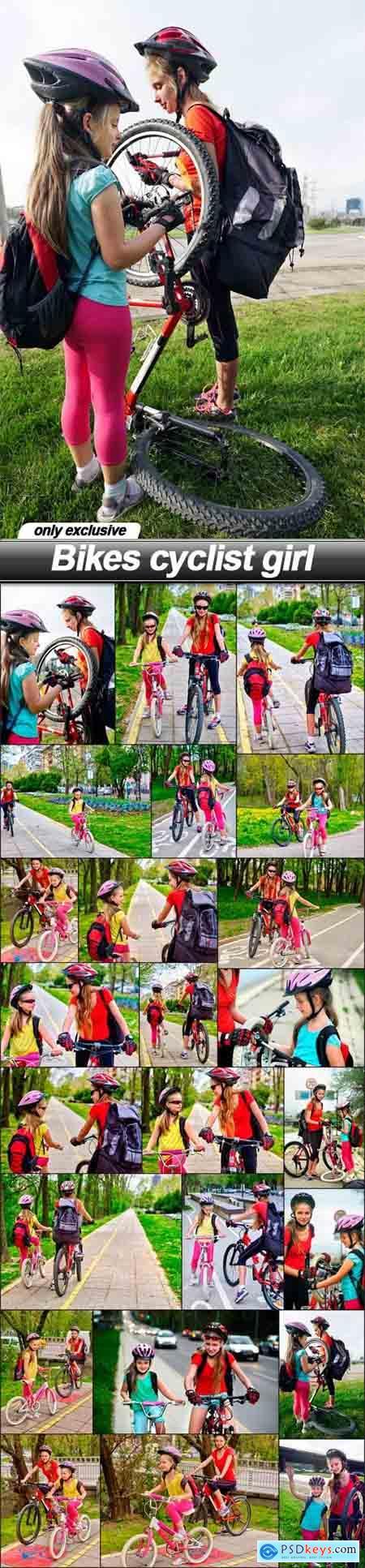 Bikes cyclist girl - 24 UHQ JPEG