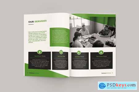 Creativemarket Bizy - A4 Business Brochure