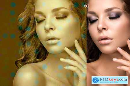 Creativemarket Bokeh Painting Photoshop Action