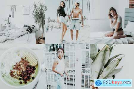 Creativemarket MOJITO BRIGHT LIGHTROOM PRESETS