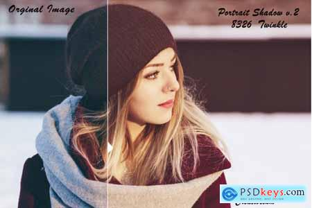 Creativemarket Portrait Shadow v.2 Lightroom Presets