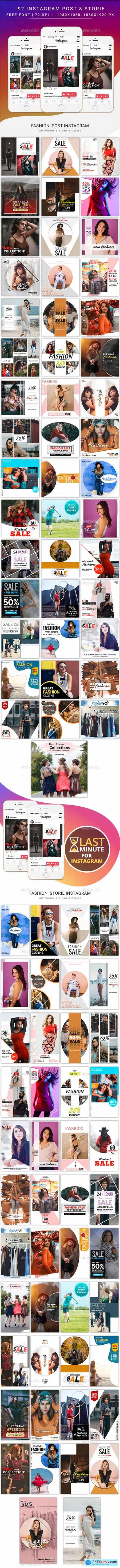 Graphicriver Fashion Instagram Post & Stories