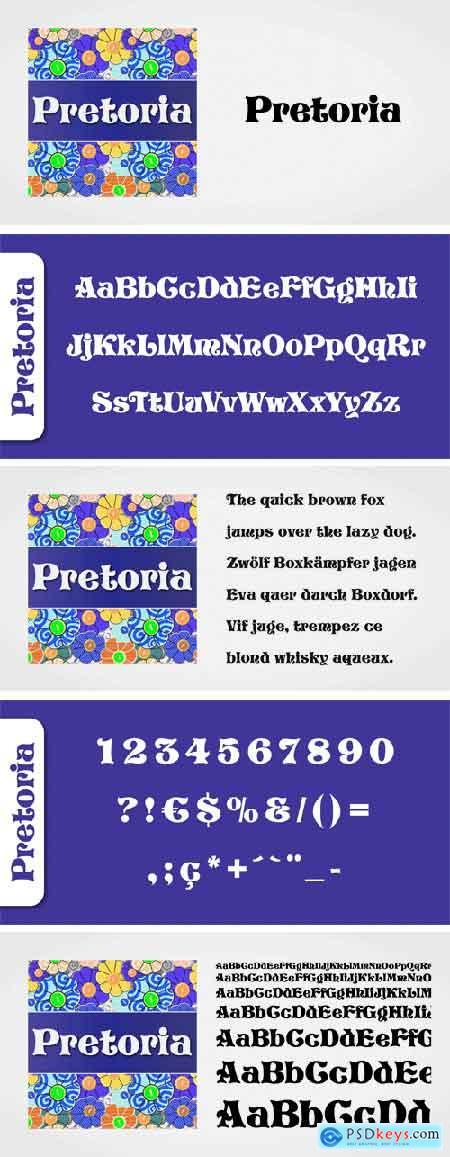 Pretoria Font