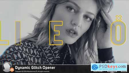 Videohive Dynamic Glitch Opener
