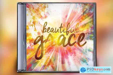 Creativemarket Beautiful Grace CD Album Artwork