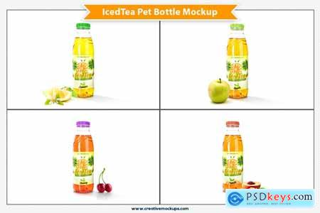 Creativemarket Iced Tea Pet Bottle Mockup