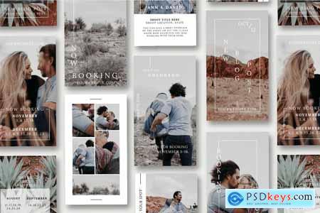 Creativemarket Instagram Stories Canva Photographer