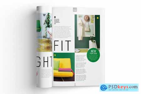 Creativemarket Magazine Template InDesign 07